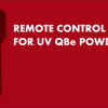 Remote control for UV QBe electronic power supply