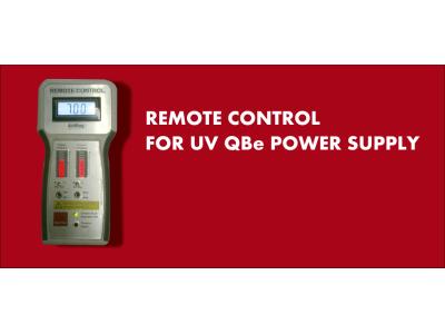 Dispositivo di controllo manuale per alimentatore elettronico UV QBe