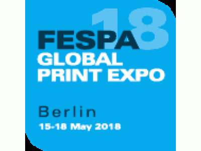 Fespa Global Print Expo 2018 – 15-18 May 2018 – Berlin
